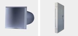 Приточные элементы ALD-R 160 L c LUNOtherm