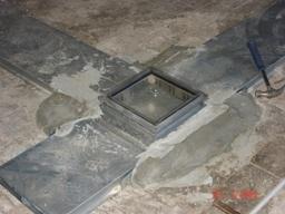 Системы прокладки кабеля под заливку бетоном