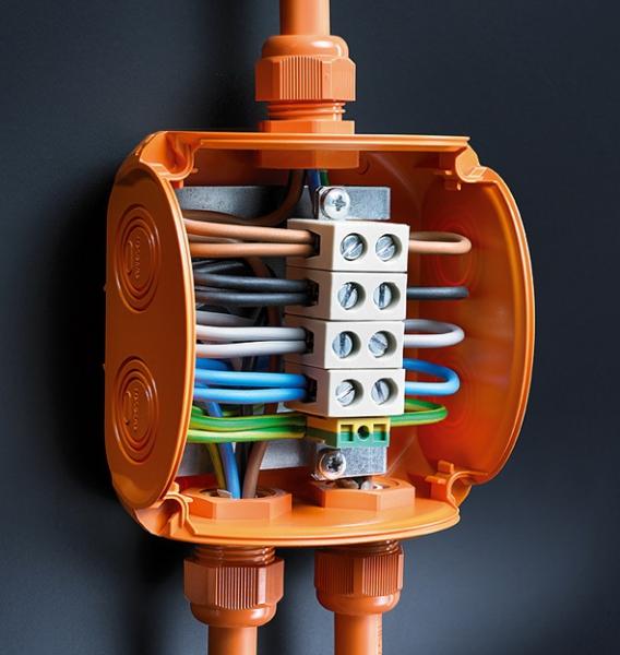 Огнестойкие кабельные коробки Hensel ENYCASE