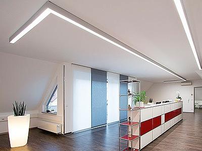 Системы освещения офисного здания